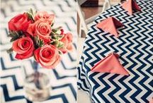 Chevron Wedding + Event Ideas