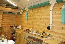 Work Shop Ideas / by Jim Boyd