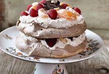 Trifles, Pavlovas, Eclairs, Profiteroles, Cream Puffs, / by ribeirogabriel59@yahoo.com Gabriel Menezes Ribeiro