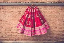 Bridal Lehengas / From traditional to chic, presenting a collection of beautiful bridal lehengas that for the wedding day!