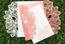 Wedding Invitations / Invitation Cards, Boxes and other inspirational invites for Indian Weddings.