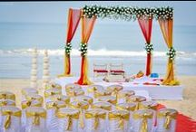 Indian Beach Weddings / For all those Indian Brides/Grooms that like the sea, here is a gallery of wedding inspirations for your perfect beach wedding!