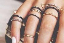 Bracelets + Necklaces + Rings