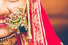 Wedding Nose Rings / Gallery of Beautiful Nose Rings for the Indian Bride! All about the Wedding Nath!