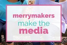 The Merrymaker Sisters Make the Media / Healthy food, mindfulness, bliss articles in the media!