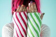 crochet hands n' leg warmers / crochet