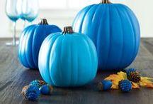 Pumpkins, decorative