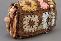 Dolce et Gab. crochet purses