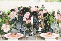 Chic Garden Wedding / A garden wedding can be a classic, chic event if the right colours are used. Therefore a luxurious mix of greens entwined with deep crimson and reds creates for a tranquil and clean palette. Matching this vast array of colours together allows for versatile décor to create the right ambience. www.enchantedempire.com.au