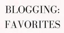 Blogging: Favorites