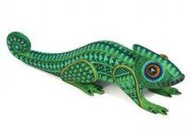 Lizard Project Alebrije DDLM 2015 Inspiration