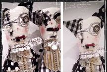 Monster Doll inspiration Board