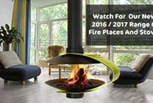 Fireplaces / Modern fireplaces and stoves