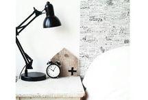 BEDROOM / home, black, white, grey