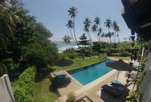 COCO TANGALLA / A 6-bedroom chic beach hotel in Tangalle, overlooking the Indian Ocean. Either book by room or the whole house and take a dip in the infinity pool surrounded by coconut trees.                      www.cocotangalla.com