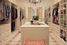 dream wardrobe / My future dream walk-in wardrobe and all it's accessories :D