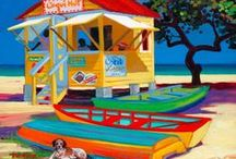 ART BEACH SCENES / by Happy Daze