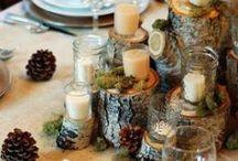 Forrest themed wedding