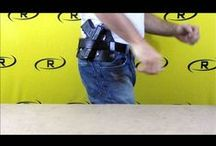 Video Demos / Video demos of our products to give you a better idea of the function and concealment each type of holster offers.  For more information visit our website at: www.remoraholsters.com