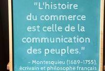 Citation de la semaine / Les citations hebdomadaires de Verbaccino en français (Verbaccino's weekly quotes in French)