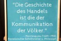 Zitat der Woche / Verbaccinos wöchentliche Zitate auf Deutsch (Verbaccino's weekly quotes in German)