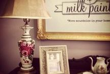 Miss Mustard Seed΄s Milk Paint Projects / Furniture transformations