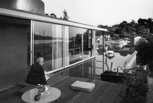 Richard Neutra / Richard Joseph Neutra was an Austrian American architect. Living and building for the majority of his career in Southern California, he came to be considered among the most important modernist architects. / by STANDSEVEN