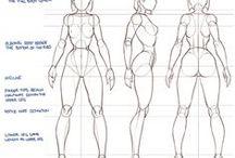 Drawing Girls Body