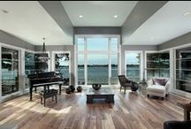 Living Room / Decor and design ideas for living room. Furniture, design elements and decor inspiration.