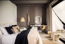 Bedroom / Get a good night sleep in a comfortable and personal looking bedroom. Ideas and inspirations from nordic whites to asian exotic.