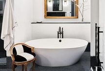 Bathroom / Marble floors, compact spaces and luxurious home spas. Versatile ideas from around the world.