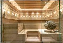 Sauna / Ideas for designin a relaxing sauna.