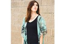 New Kaftans by Paykoc Imports / Glam up in style with this elegant and flowing garment. This open caftan is the perfect beach cover up or glamour addition to your wardrobe. Made from 100% polyester.