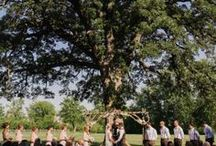 Wedding Ceremony at County Line Orchard