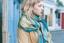 Winter layering and accessories / tips for layering up when the weather gets cold