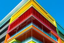 Colorful homes