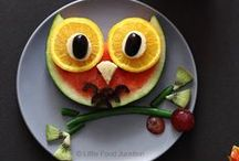 Decorative Food / Cool tips and pretty foods. I wish I was as talented!