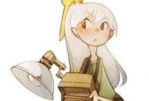 cahara_mini / 等身が低いキャラクター