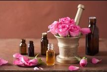 Rose Essential Oil uses / Therapeutic benefits, uses, and recipes for rose oil.