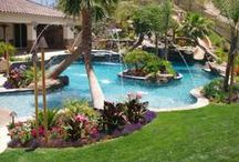 Dream Indoor & Outdoor Pool/Spa Ideas / by Lauren 👑💎🌹🌴🌺✈️