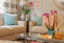 Decorating Ideas / Rosegold - Peach - Beige - Salem