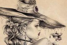 Zeichnungen / Bilder, Malen, Zeichnen, Zeichnungen