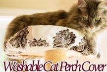 Climb-It Cat / Climb-It Cat is the organic cat perch cover that is washable, reusable, and keeps your cat perch clean!  Cat perch cover. Cat Condo cover. Cat tree cover.