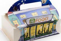 ReBox Save the food / Nasce reBOX il progetto che trasforma il cibo avanzato al ristorante in una buona abitudine: un contenitore che ti permette di portare a casa gli avanzi.