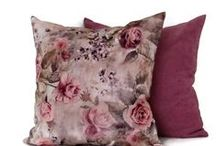 Modern House Boutique / Handmade pillow covers made from designer fabrics