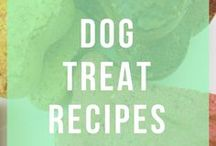 Dog Treat Recipes / Healthy and natural homemade treats for dogs and puppies. Find grain-free, organic, human grade delectable yummies here.