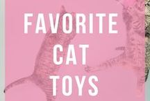 Favorite Cat Toys / All our favorite cat toys and kitten toys. DIY cat toys.