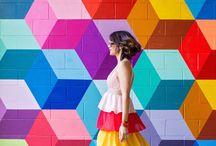 Happy Colours / Schöne sommerliche Designs und Farben, die glücklich machen. Von Rosa über Lila Türkis pink und gelb. Alles was das Auge erfrischt, erhellt und glücklich macht. Das Leben ist bunt und voller Farben. Life is colourful. Leben, Living, bunt, colourful, Regenbogen, Regenbogen Farben, bunte Farben und Formen und Farbstile. Wohnen und Einrichten.