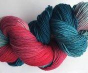 Tigerwolle: Neue Färbungen / Handgefärbte Sockenwolle, handgefärbte Wolle in meinem Etsy-Shop