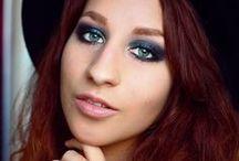 my make-up looks / bright, colorful, shiny, matte, smokey make-up looks by rauschgiftengel.com